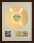 Music Memorabilia:Awards, Nancy Sinatra Boots RIAA Gold Record Award (1966). ...