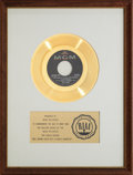 "Music Memorabilia:Awards, Herman's Hermits ""Mrs. Brown You've Got A Lovely Daughter"" RIAAGold Record Award (1965). ..."