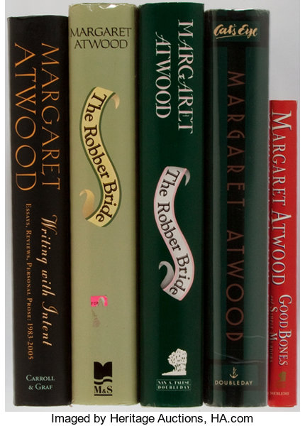 Margaret Atwood Cats Eye Robber Bride And Others Group Of Five