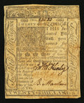 Colonial Notes:Delaware, Delaware January 1, 1776 20s Fine.. ...