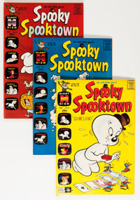 Spooky Spooktown File Copy Long Box Group (Harvey, 1963-76) Condition: Average NM-