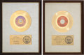 "Music Memorabilia:Awards, The Isley Brothers ""It's Your Thing"" and ""That Lady"" RIAA GoldRecord Awards (1969, 1973).... (Total: 2 Items)"