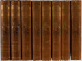 Books:Literature Pre-1900, [Shakespeare]. Gordon Browne [illustrator]. Henry Irving and FrankA. Marshall [editors]. The Works of William Shakespea...