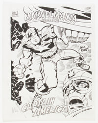 Marvelmania #1 Test Issue (Marvel, 1969) Condition: NM