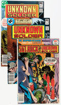 Bronze Age (1970-1979):War, Unknown Soldier Group (DC, 1978-82) Condition: Average VF+.... (Total: 16 Comic Books)