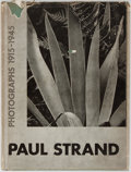 Books:Photography, [Photography]. Paul Strand [subject]. Nancy Newhall. Paul Strand: Photographs 1915-1945. MOMA, 1945. First edition, ...