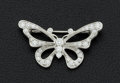 Estate Jewelry:Brooches - Pins, Diamond & Platinum Butterfly Brooch, Tiffany & Co.. ...