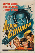 "Movie Posters:War, Aerial Gunner (Paramount, 1943). One Sheet (27"" X 41""). War.. ..."