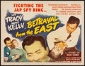 """Movie Posters:Adventure, Betrayal from the East (RKO, 1944). Half Sheet (22"""" X 28"""") Style B.Adventure.. ..."""