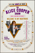 """Movie Posters:Rock and Roll, Alice Cooper: Welcome to My Nightmare (Key Pictures, 1975). OneSheet (27"""" X 41""""). Rock and Roll.. ..."""
