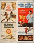 "Movie Posters:Adventure, Kings of the Sun & Other Lot (United Artists, 1963). Inserts(2) (14"" X 36""). Adventure.. ... (Total: 2 Items)"