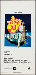 "Movie Posters:Blaxploitation, Super Fly (Warner Brothers, 1972). Italian Locandina (13"" X 27"").Blaxploitation.. ..."