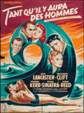 "Movie Posters:Academy Award Winners, From Here to Eternity (Columbia, 1953). French Grande (45.5"" X 61.5"") Style A. Academy Award Winners.. ..."