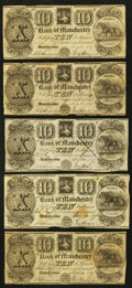 Obsoletes By State:Michigan, Manchester, MI- The Bank of Manchester $2 (5); $3; $5 (5); $10 (5) Nov. 20, 1837 G2 (5); G4; G6 (5); G8 (5) Lee MAN-1-1 (5);... (Total: 16 notes)