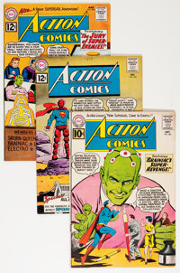 Action Comics Group (DC, 1961-65) Condition: Average FN.... (Total: 12 Comic Books)