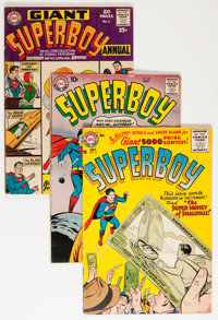 Superboy Group (DC, 1957-66) Condition: Average VG/FN.... (Total: 21 Comic Books)