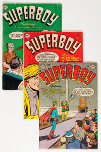 Superboy Group (DC, 1954-57) Condition: Average VG-.... (Total: 10 Comic Books)