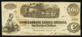 Confederate Notes:1862 Issues, T40 $100 1862 PF-8 Cr. UNL.. ...