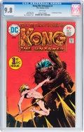 Bronze Age (1970-1979):Miscellaneous, Kong the Untamed #1 (DC, 1975) CGC NM/MT 9.8 White pages....