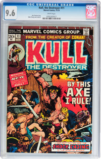 Kull the Destroyer #11 (Marvel, 1973) CGC NM+ 9.6 White pages