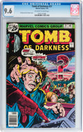 Bronze Age (1970-1979):Horror, Tomb of Darkness #21 (Marvel, 1976) CGC NM+ 9.6 Off-white to whitepages....
