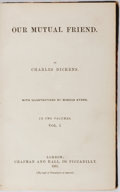 Books:Literature Pre-1900, Charles Dickens. Our Mutual Friend. Chapman and Hall, 1865.Two volumes bound into one. With illustrations by Ma...