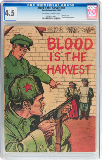 Blood Is the Harvest #nn (Catechetical Guild, 1950) CGC VG+ 4.5 Off-white to white pages