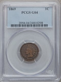Indian Cents: , 1869 1C Good 4 PCGS. PCGS Population (55/845). NGC Census:(42/683). Mintage: 6,420,000. Numismedia Wsl. Price for problem ...