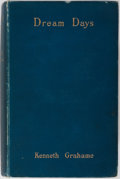 Books:Literature Pre-1900, Kenneth Grahame. Dream Days. John Lane, 1899. First edition.Publisher's original blue cloth. Modest shelf wear ...