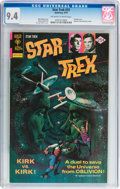 Bronze Age (1970-1979):Science Fiction, Star Trek #33 (Gold Key, 1975) CGC NM 9.4 Off-white to white pages....