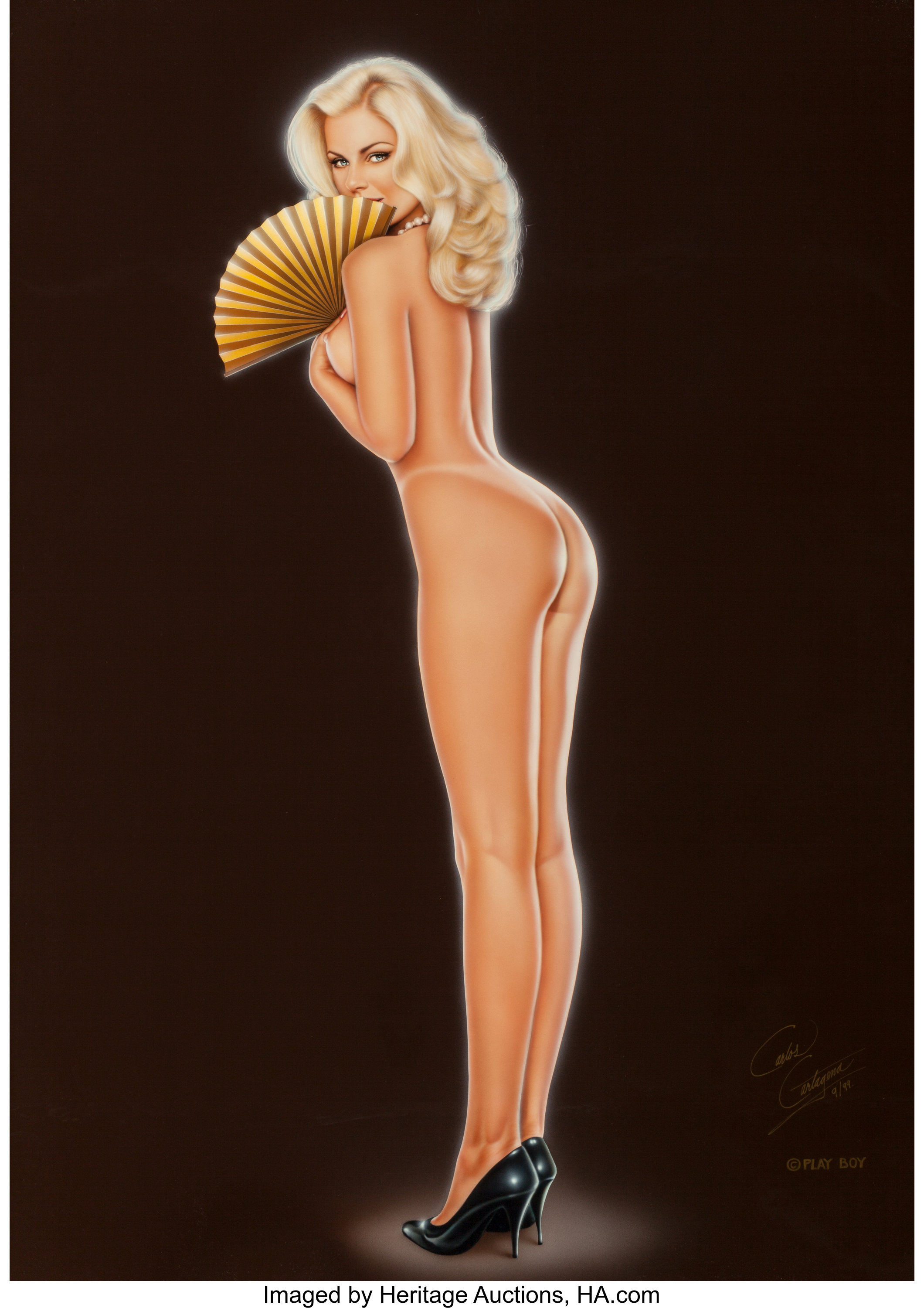 carlos cartagena american b 1960 a modest proposal playboy lot 76020 heritage auctions