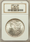 Morgan Dollars: , 1899-O $1 MS65 NGC. NGC Census: (7422/1190). PCGS Population(7260/1306). Mintage: 12,290,000. Numismedia Wsl. Price for pr...