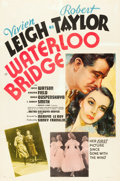 "Movie Posters:Romance, Waterloo Bridge (MGM, 1940). One Sheet (27"" X 41"") Style D.. ..."
