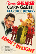 "Movie Posters:Comedy, Idiot's Delight (MGM, 1939). One Sheet (27"" X 41"") Style C.. ..."