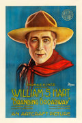 "Movie Posters:Western, Branding Broadway (Artcraft, 1918). One Sheet (27"" X 41"").. ..."