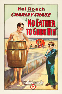 "No Father to Guide Him (Pathé, 1925). One Sheet (27"" X 41"")"