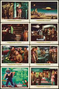 """Forbidden Planet (MGM, 1956). Lobby Card Set of 8 (11"""" X 14""""). ... (Total: 8 Items)"""