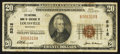 National Bank Notes:Kentucky, Louisville, KY - $20 1929 Ty. 1 The NB of Kentucky Ch. # 5312. ...