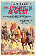 "Movie Posters:Serial, The Phantom of the West (Mascot, 1931). One Sheets (2) (27"" X 41"").Chapter 1-- ""The Ghost Riders"" and Chapter 2 -- ""The Sta... (Total:2 Items)"