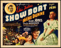 "Movie Posters:Musical, Show Boat (Universal, 1936). Title Lobby Card (11"" X 14"").. ..."