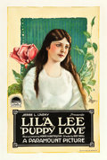 "Movie Posters:Comedy, Puppy Love (Paramount, 1919). One Sheet (28 X 42"").. ..."