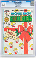 Bronze Age (1970-1979):Cartoon Character, Richie Rich Billions #8 (Harvey, 1976) CGC NM 9.4 Off-white towhite pages....