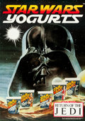 "Movie Posters:Science Fiction, Star Wars/Return of the Jedi (Bridge Farm Dairies, 1983).Advertising Poster (16.5"" X 23.5""). From the collection of thel..."