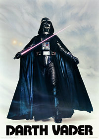 Star Wars & The Empire Strikes Back (Factors, 1977 & 1980). Autographed Character Poster & Chara...