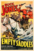 """Movie Posters:Western, Empty Saddles (Universal, 1936). One Sheet (27"""" X 41"""").. ..."""