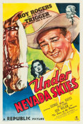 "Movie Posters:Western, Under Nevada Skies (Republic, 1946). One Sheet (27"" X 41"").. ..."
