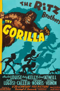 "Movie Posters:Comedy, The Gorilla (20th Century Fox, 1939). One Sheet (27"" X 41"").. ..."