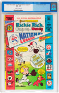 Bronze Age (1970-1979):Cartoon Character, Richie Rich, Casper and Wendy National League #1 (Harvey, 1976) CGCNM+ 9.6 Off-white to white pages....