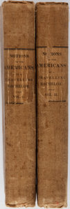 Books:Literature Pre-1900, [James Fenimore Cooper]. Notions of the Americans: Picked up bya Travelling Bachelor. Henry Colburn, 1828. Firs... (Total: 2Items)