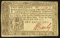 Colonial Notes:Pennsylvania, Pennsylvania April 10, 1777 2s Extremely Fine.. ...